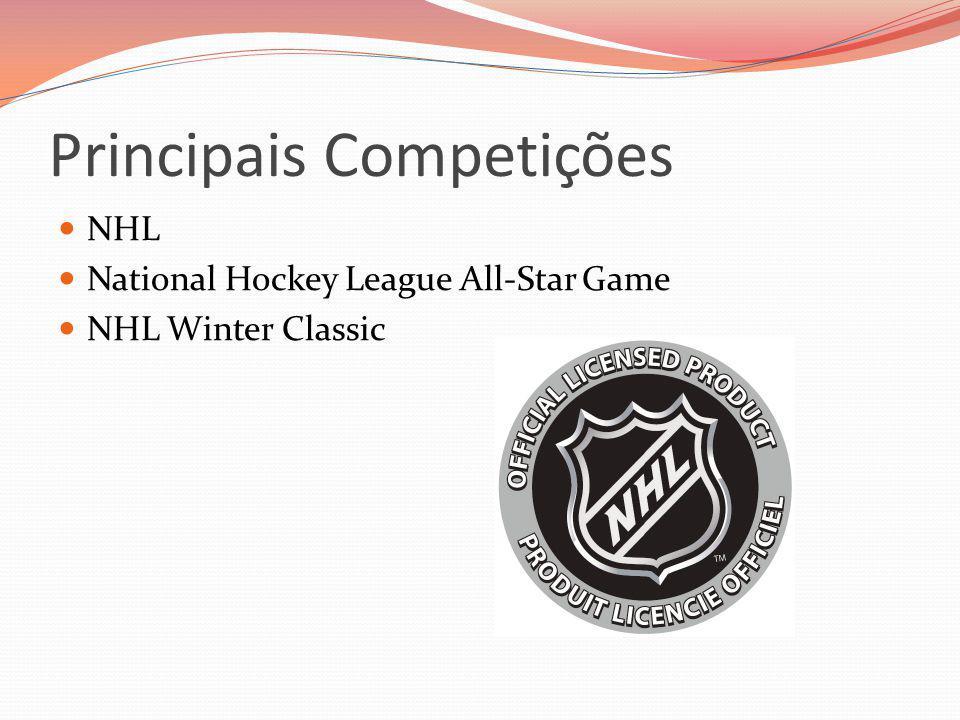 Principais Competições NHL National Hockey League All-Star Game NHL Winter Classic