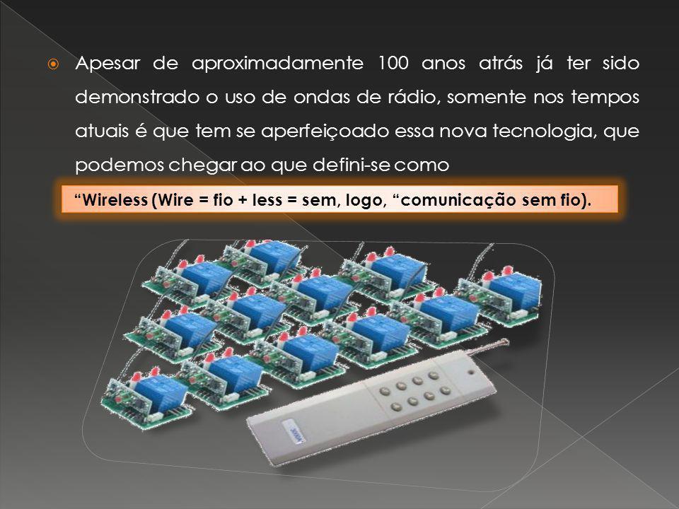 Apesar de aproximadamente 100 anos atrás já ter sido demonstrado o uso de ondas de rádio, somente nos tempos atuais é que tem se aperfeiçoado essa nov