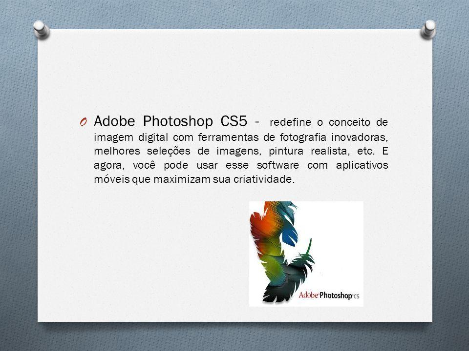 O Adobe Photoshop CS5 - redefine o conceito de imagem digital com ferramentas de fotografia inovadoras, melhores seleções de imagens, pintura realista