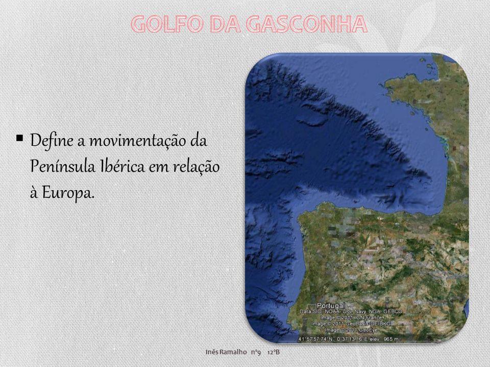 Inês Ramalho nº9 12ºB Define a movimentação da Península Ibérica em relação à Europa.