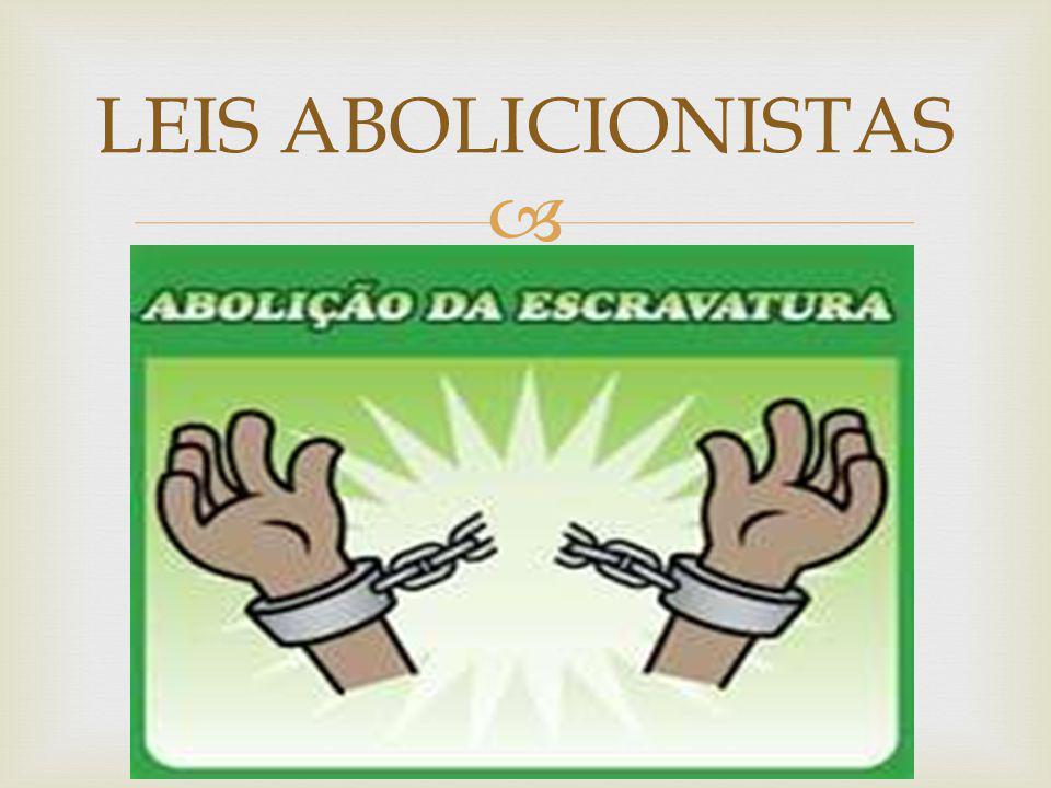 LEIS ABOLICIONISTAS