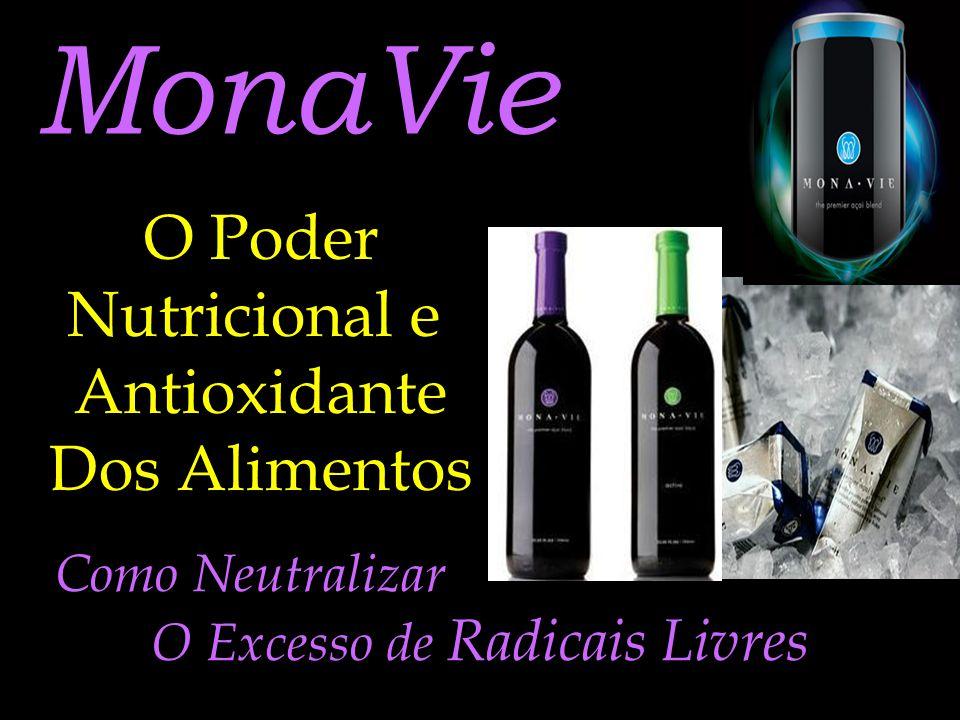MonaVie O Poder Nutricional e Antioxidante Dos Alimentos Como Neutralizar O Excesso de Radicais Livres