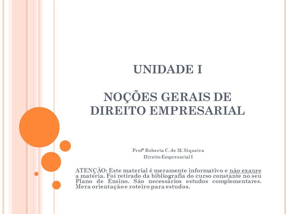 4.2 R EGISTRO DE E MPRESAS Disciplina legal: Código Civil, arts.