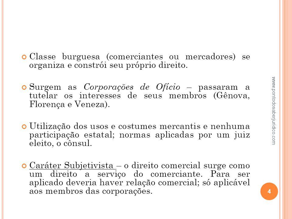 2.5 C ARACTERÍSTICAS DA EMPRESA Atividade: conjunto ou sucessão de atos destinados a um fim comum.