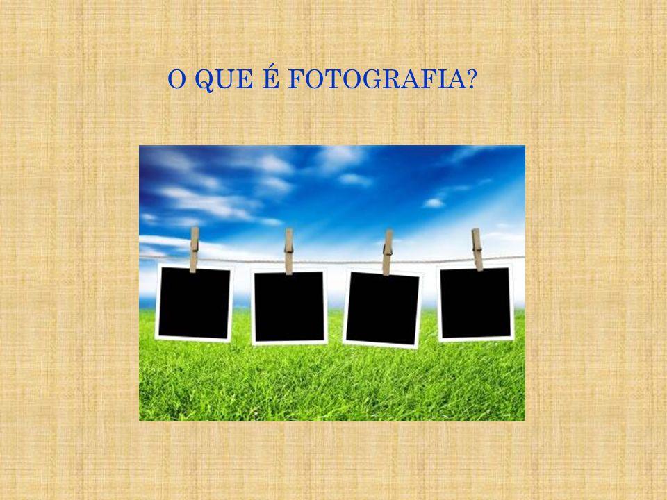 A palavra Fotografia vem do grego [ fós ] ( luz ), e [ grafis ] ( estilo , pincel ) ou grafê, e significa desenhar com luz e contraste .palavragregopinceldesenharcontraste