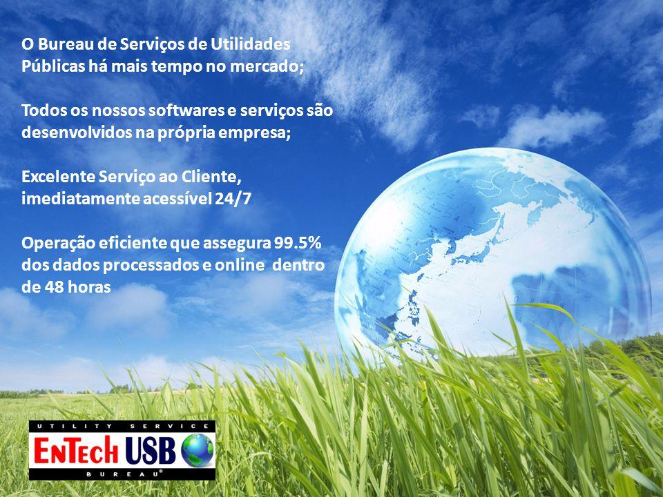 O Bureau de Serviços de Utilidades Públicas há mais tempo no mercado; Todos os nossos softwares e serviços são desenvolvidos na própria empresa; Excel