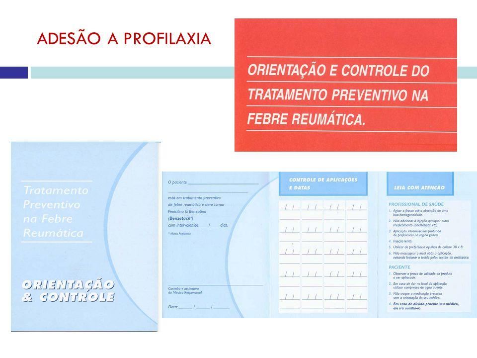ADESÃO A PROFILAXIA
