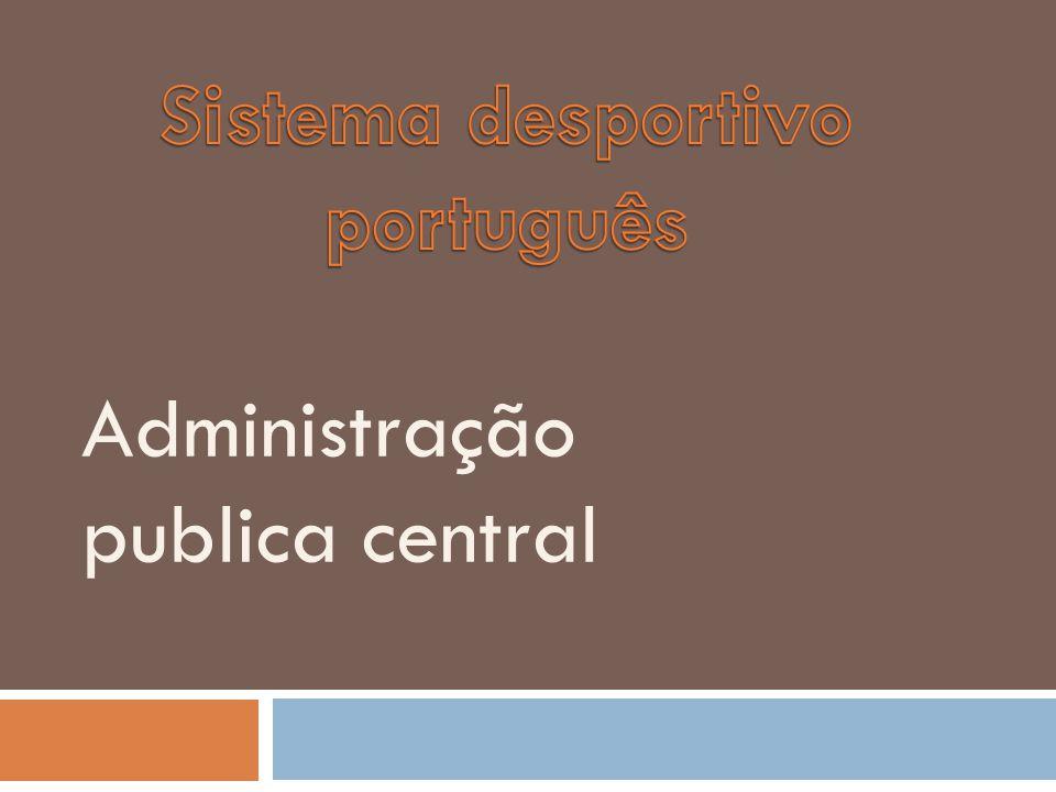 Administração publica central