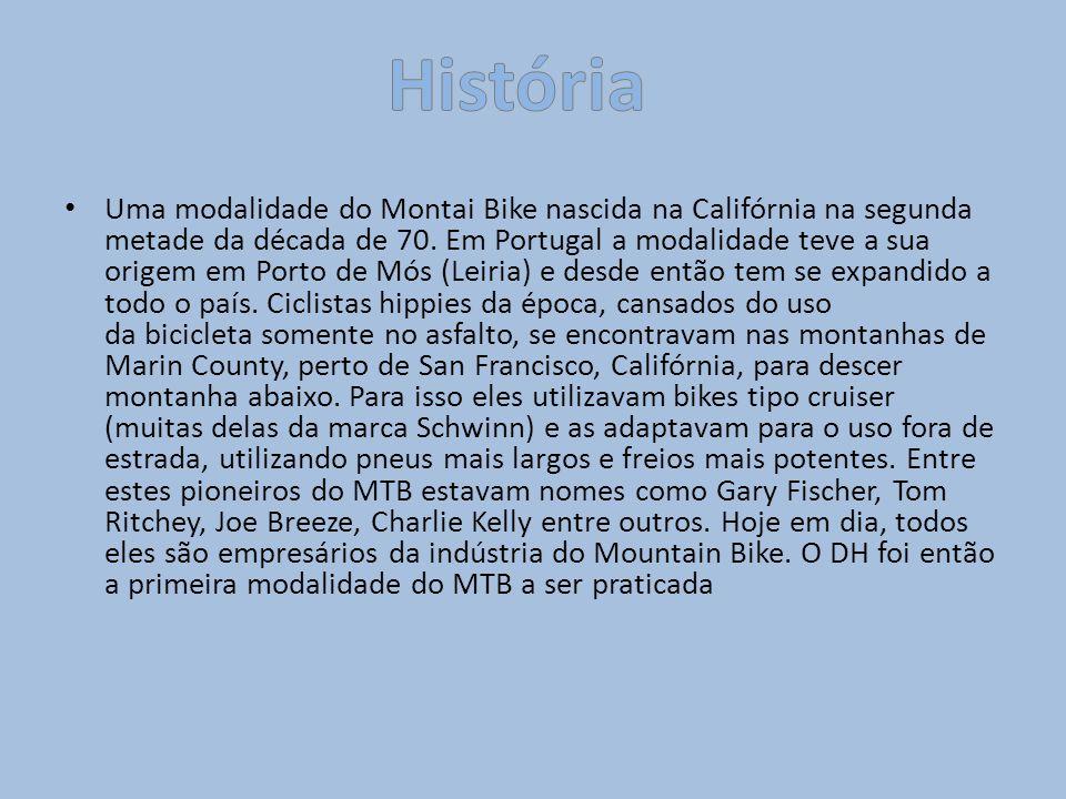 Uma modalidade do Montai Bike nascida na Califórnia na segunda metade da década de 70. Em Portugal a modalidade teve a sua origem em Porto de Mós (Lei