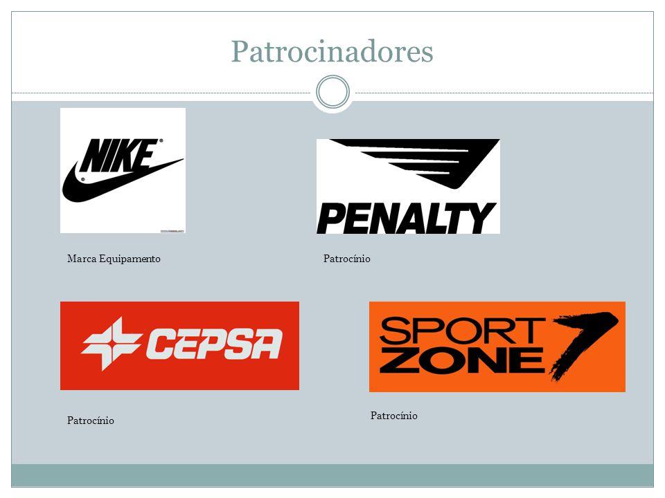 Patrocinadores Marca EquipamentoPatrocínio