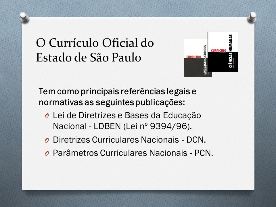 Os seis princípios norteadores do Currículo do Estado de São Paulo são: O Uma escola que também aprende.