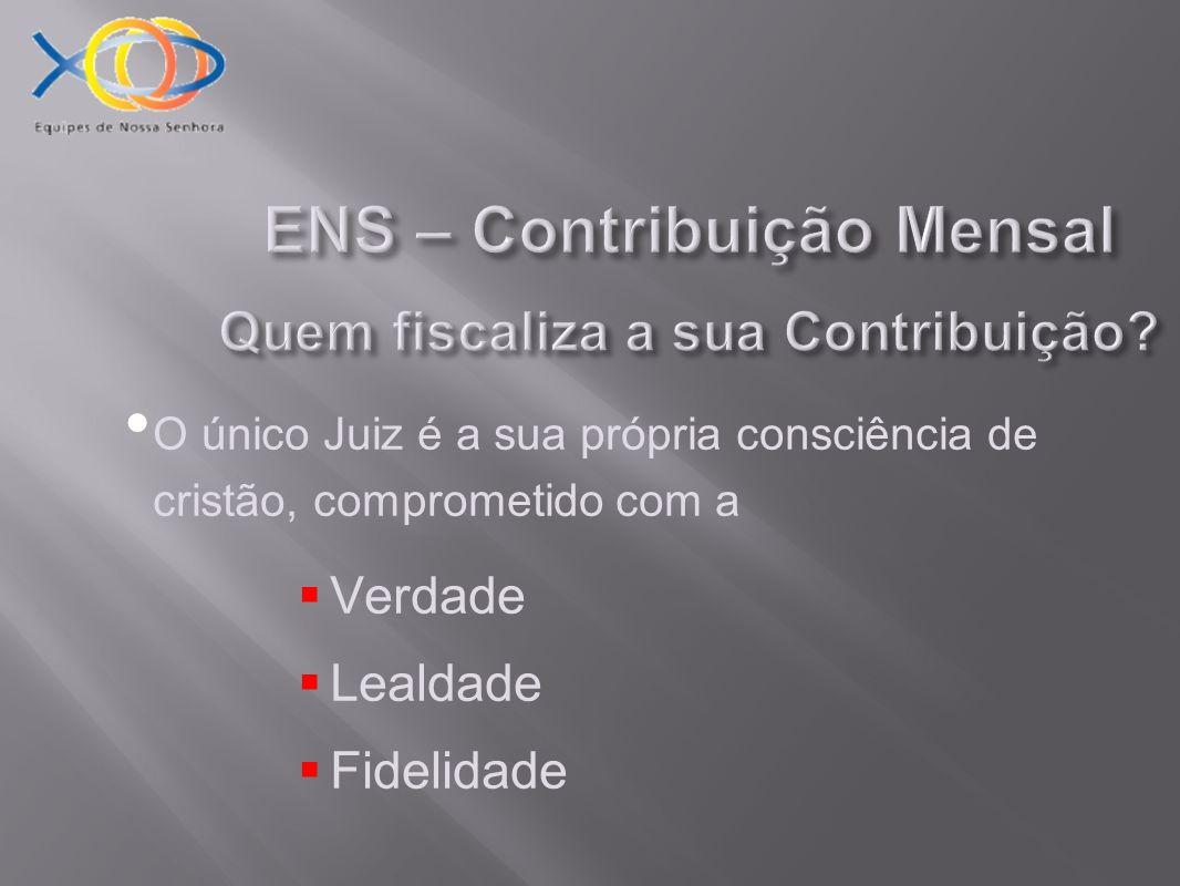 ENS – Contribuição Mensal Onde é usada a Contribuição.