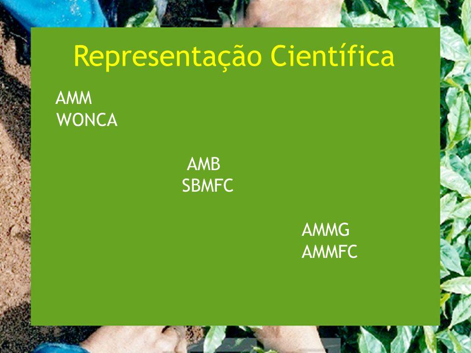 Representação Científica AMM WONCA AMB SBMFC AMMG AMMFC