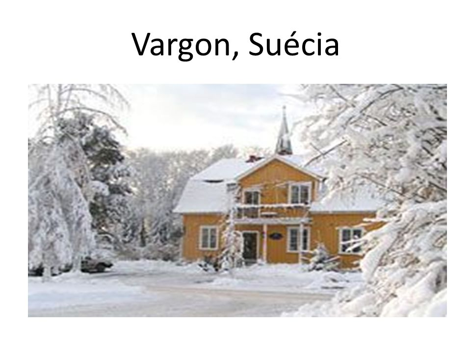 Vargon, Suécia