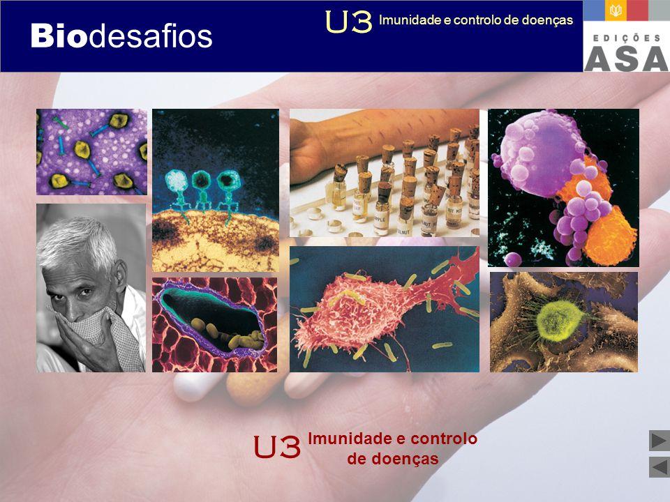 Biodesafios 12 U3 Bio desafios U3 Imunidade e controlo de doenças
