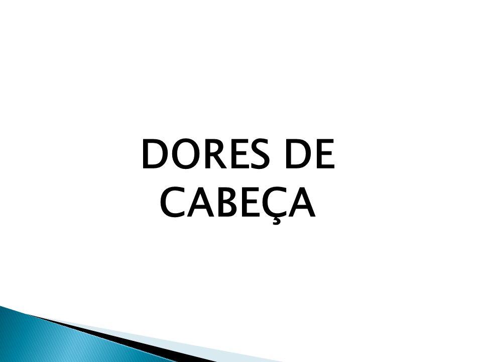 DORES DE CABEÇA