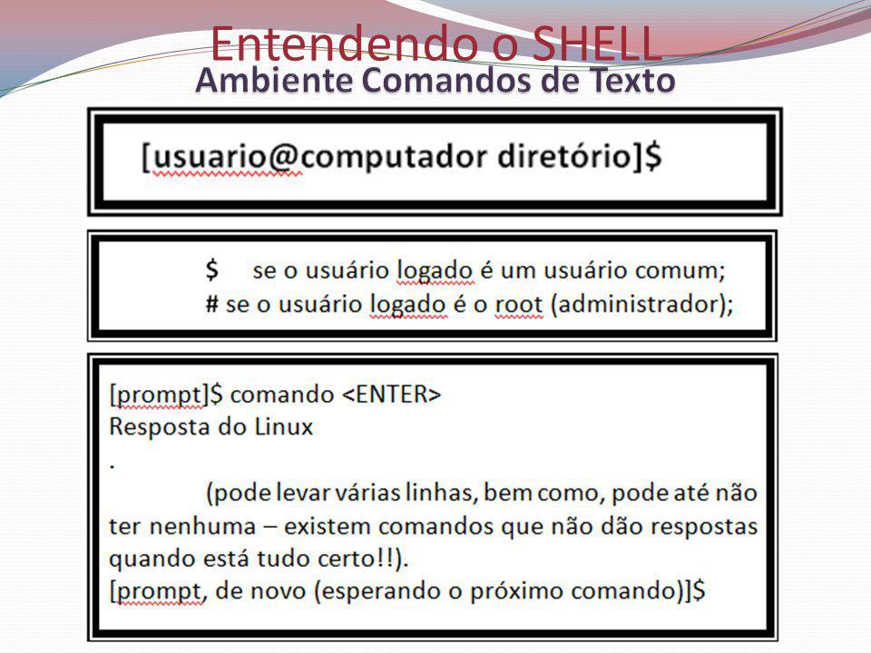 Entendendo o SHELL