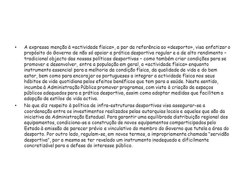 CAPÍTULO III ASSOCIATIVISMO DESPORTIVO Secção I Organização Olímpica Artigo 12.º Comité Olímpico de Portugal 1 - O Comité Olímpico de Portugal é uma associação sem fins lucrativos, dotada de personalidade jurídica, que se rege pelos seus estatutos e regulamentos, no respeito pela lei e pela Carta Olímpica Internacional.