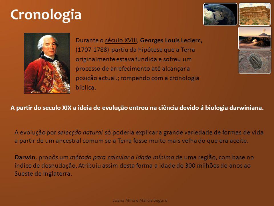 Cronologia A partir do seculo XIX a ideia de evolução entrou na ciência devido á biologia darwiniana. A evolução por selecção natural só poderia expli