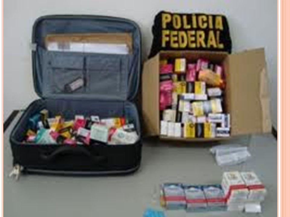 Durante todo o ano de 2008, foram apreendidas 20 toneladas de remédios falsificados ou sem registro e comercializados por meio de empresas clandestinas.