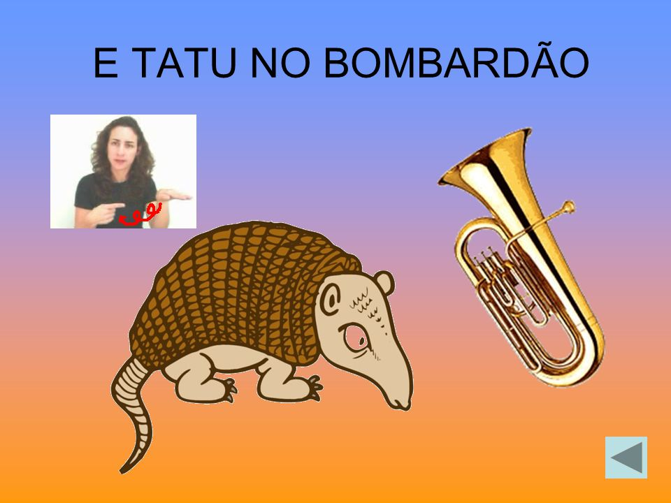 E TATU NO BOMBARDÃO