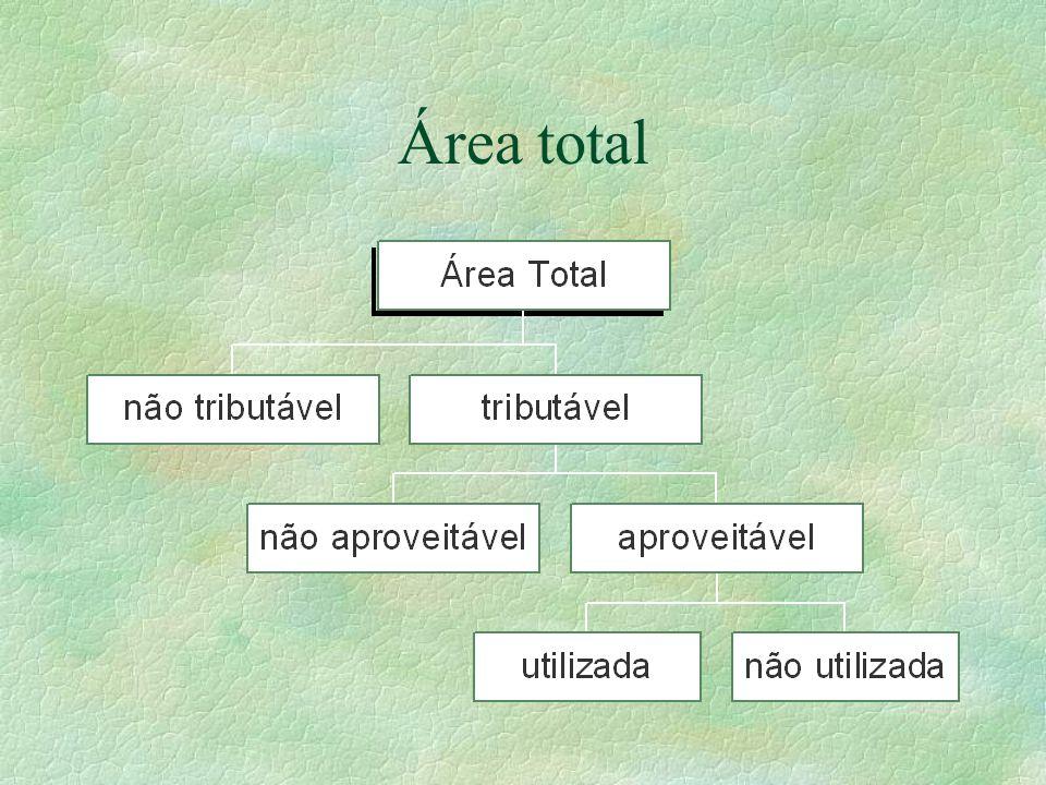 Área total