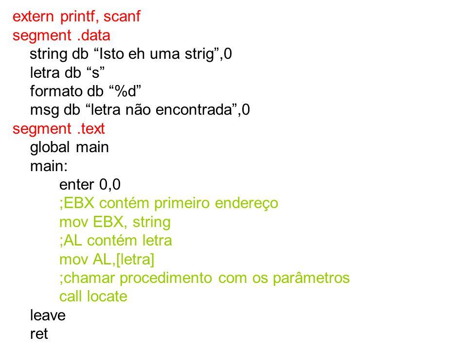 segment.text global main main: enter 0,0 ;EBX contém 1o.