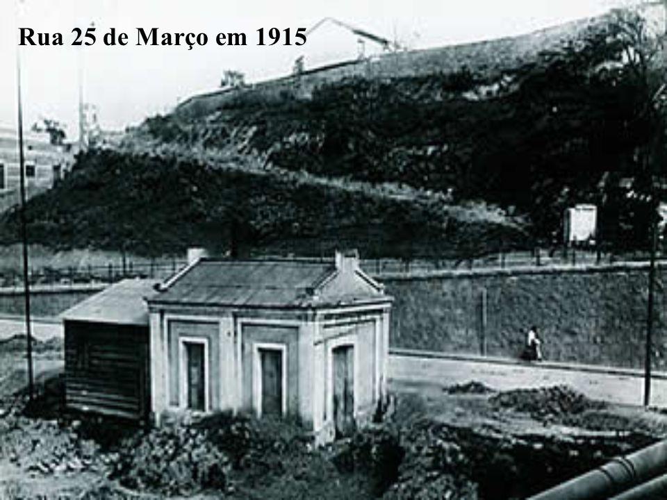 Rua 25 de Março em 1915