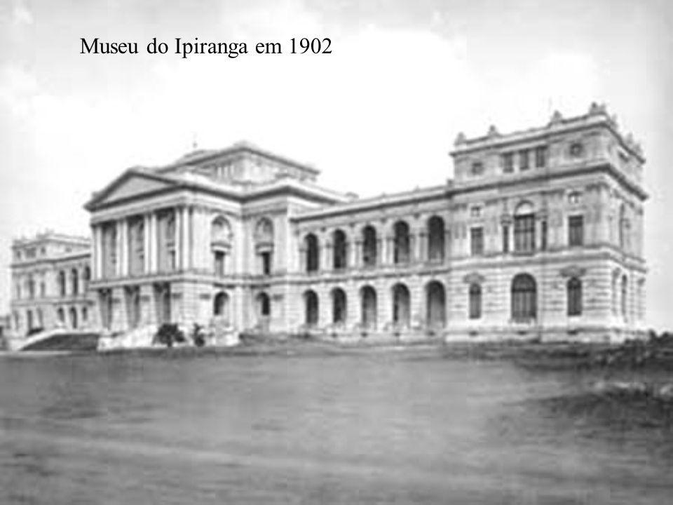 Museu do Ipiranga em 1902