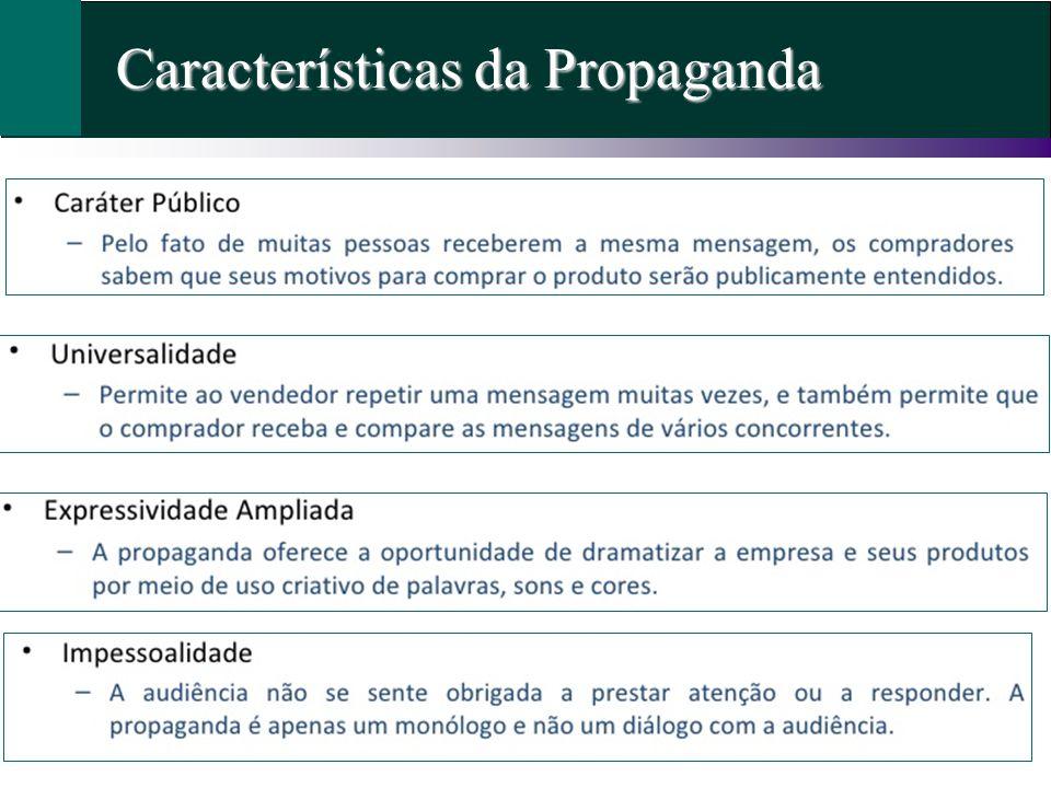 Características da Propaganda