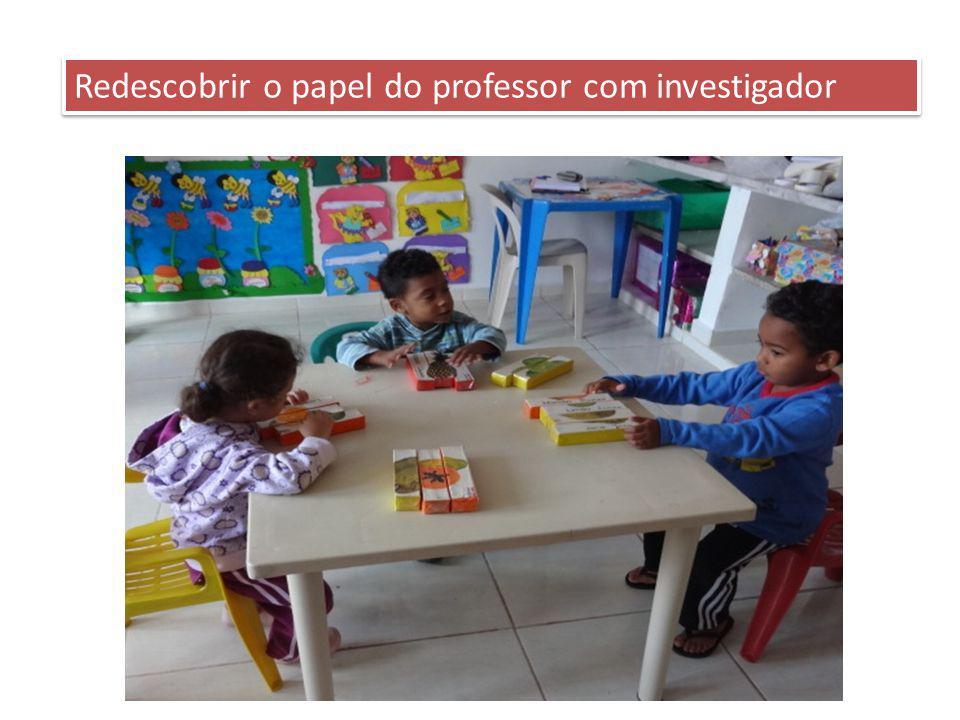 Redescobrir o papel do professor com investigador