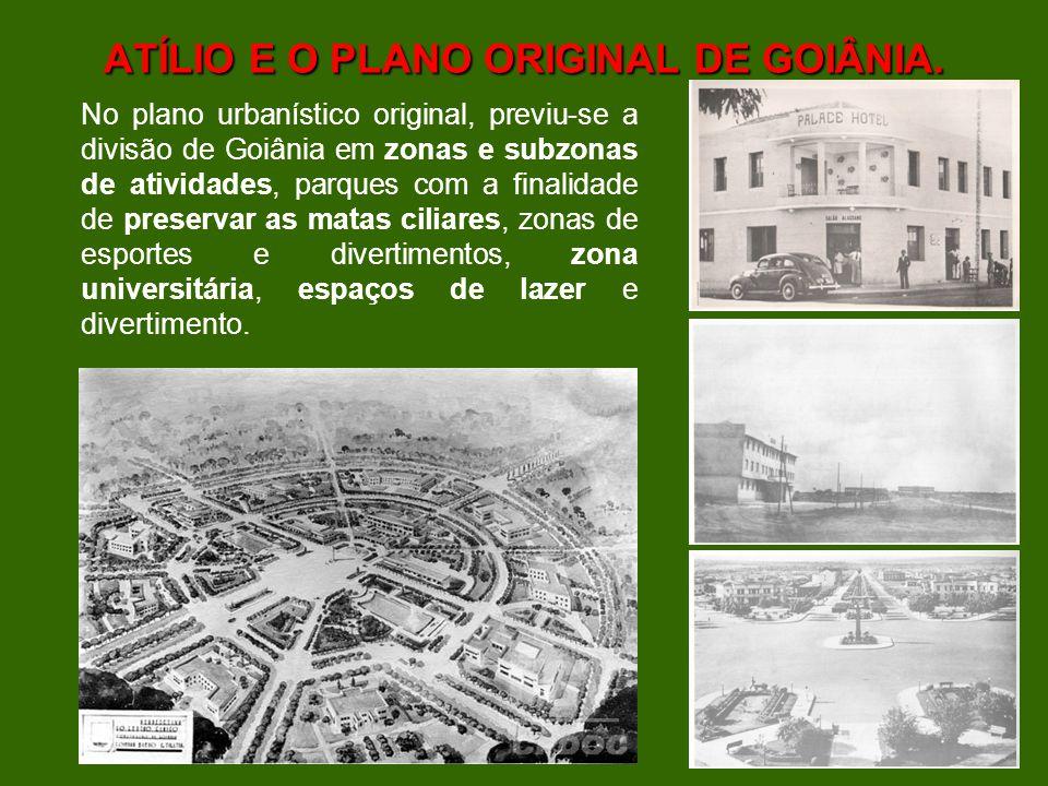 EXPANSÃO DE GOIÂNIA 1975/2007 PDIG – Lei 015/1972 e Lei Complementar 031/94 – Uso e Ocupação do Solo (ENGEVIX).