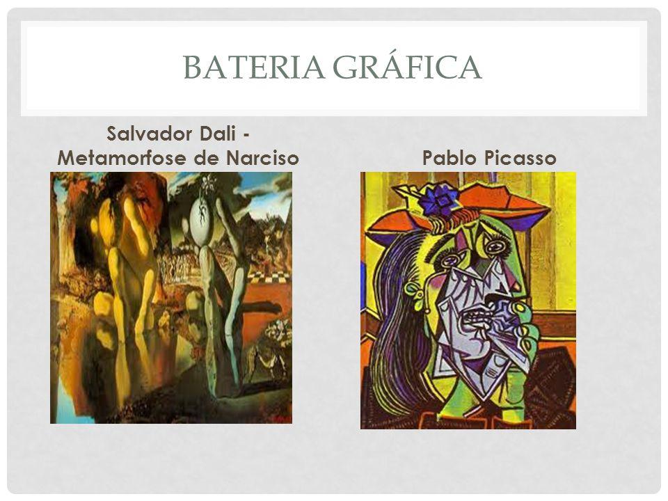 BATERIA GRÁFICA Salvador Dali - Metamorfose de Narciso Pablo Picasso