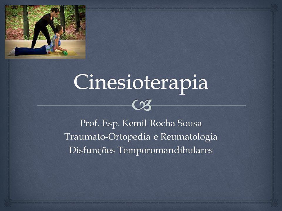 Prof. Esp. Kemil Rocha Sousa Traumato-Ortopedia e Reumatologia Disfunções Temporomandibulares