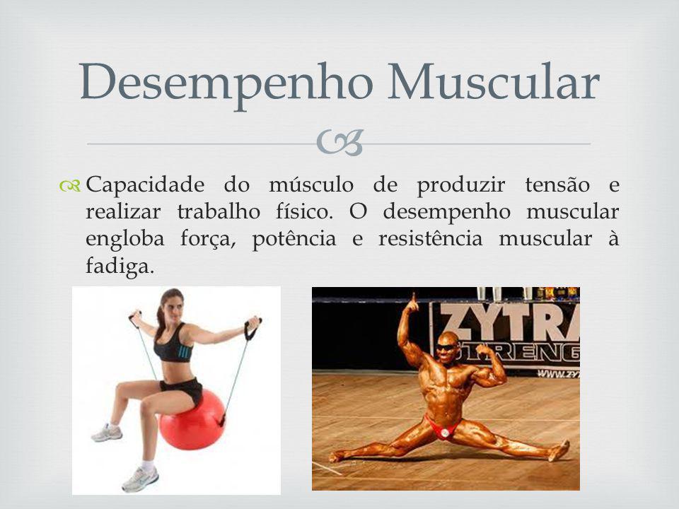 Capacidade do músculo de produzir tensão e realizar trabalho físico.