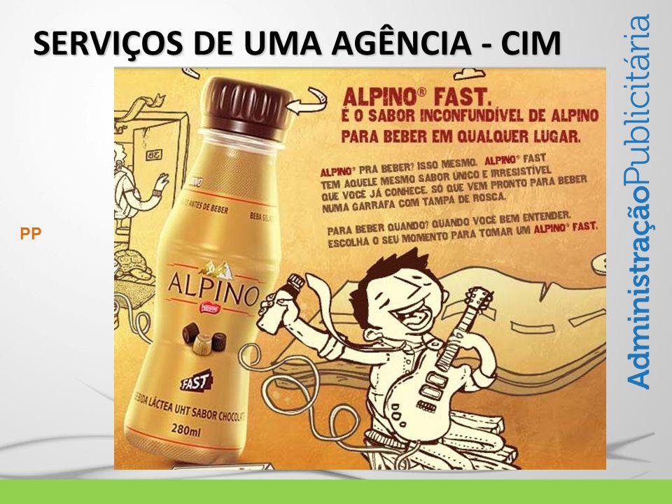 SERVIÇOS DE UMA AGÊNCIA - CIM PP
