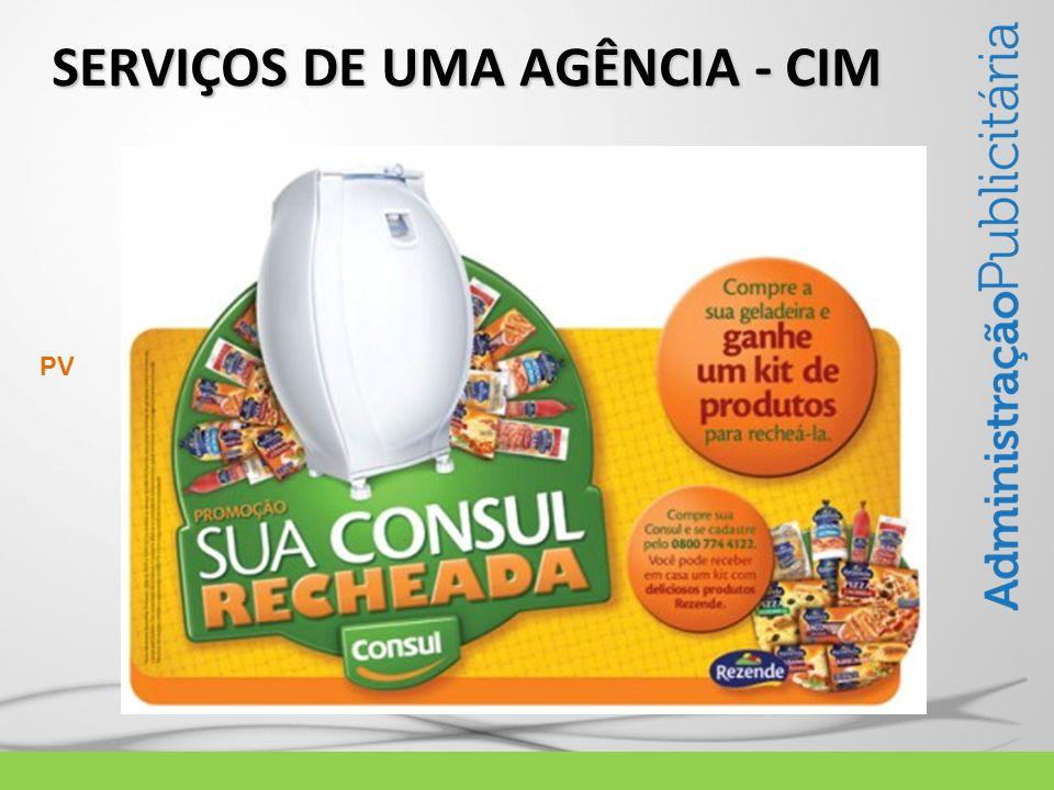 SERVIÇOS DE UMA AGÊNCIA - CIM PV