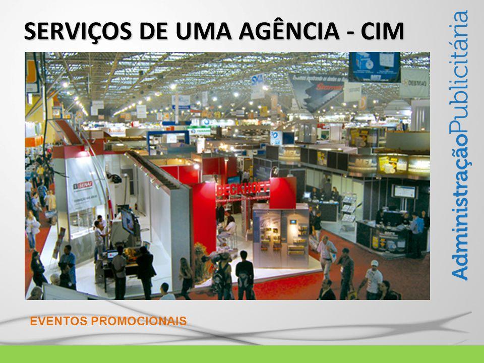 SERVIÇOS DE UMA AGÊNCIA - CIM EVENTOS PROMOCIONAIS