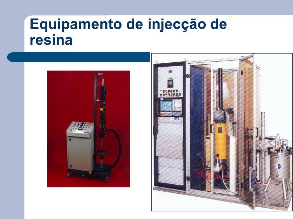 Equipamento de injecção de resina