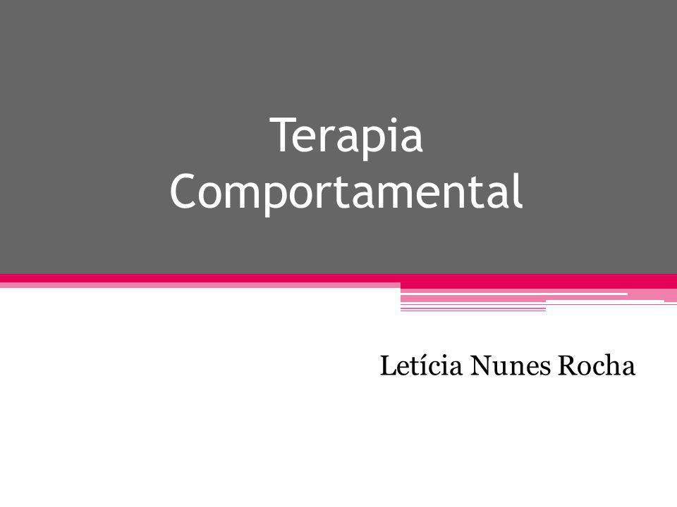 Terapia Comportamental Letícia Nunes Rocha