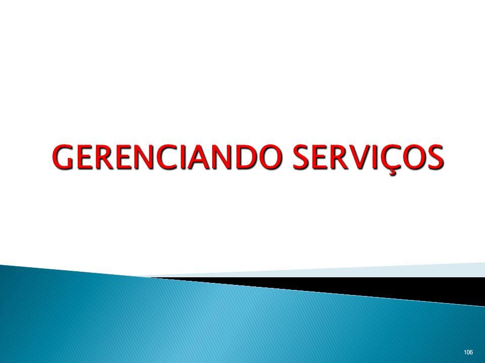107 Produtos apenas tangíveis Serviços puros Produtos tangíveis com serviços agregados Híbridos Serviços principais com produtos agregados