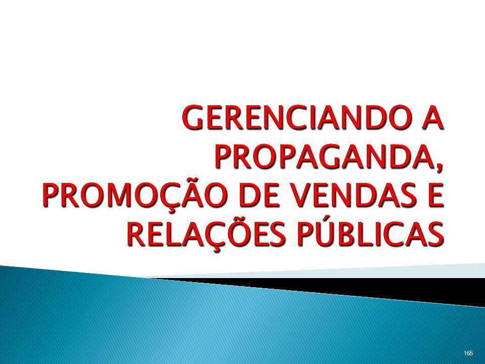 166 Estabelecimento dos objetivos Decisões do orçamento Avaliação da campanha Decisões das mensagensDeicisões de mídia