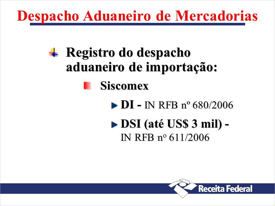Despacho Aduaneiro de Mercadorias LocalAduanas Portos marítimos Aeroportos Pontos de fronteira Depósitos comerciais de mercadorias (particulares) no i