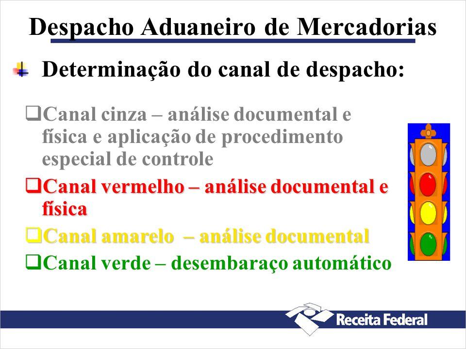 Despacho Aduaneiro de Mercadorias Nome e endereço, completos, do exportador e do importador Descrição completa das mercadorias Quantidade e espécie do