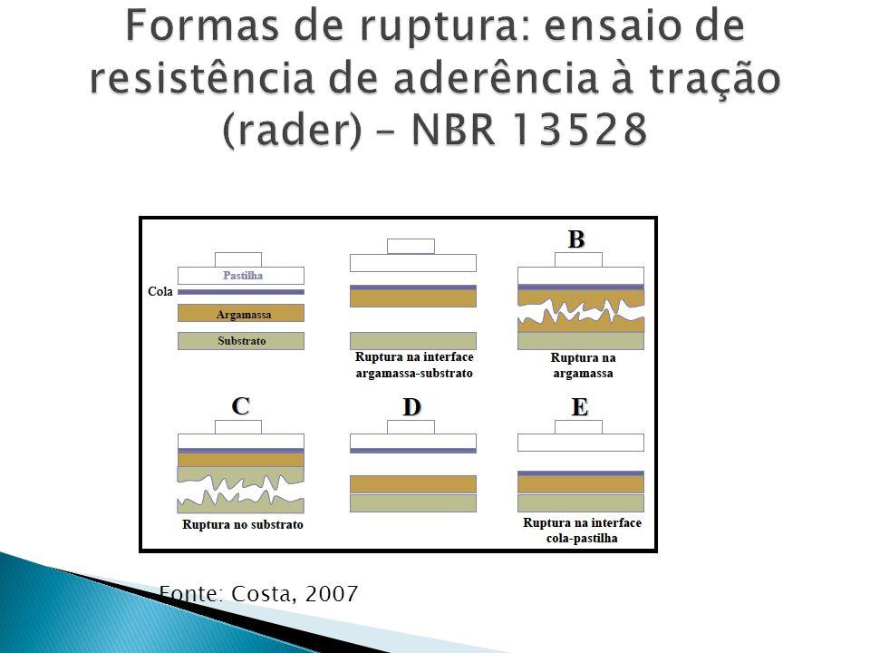 Fonte: Costa, 2007