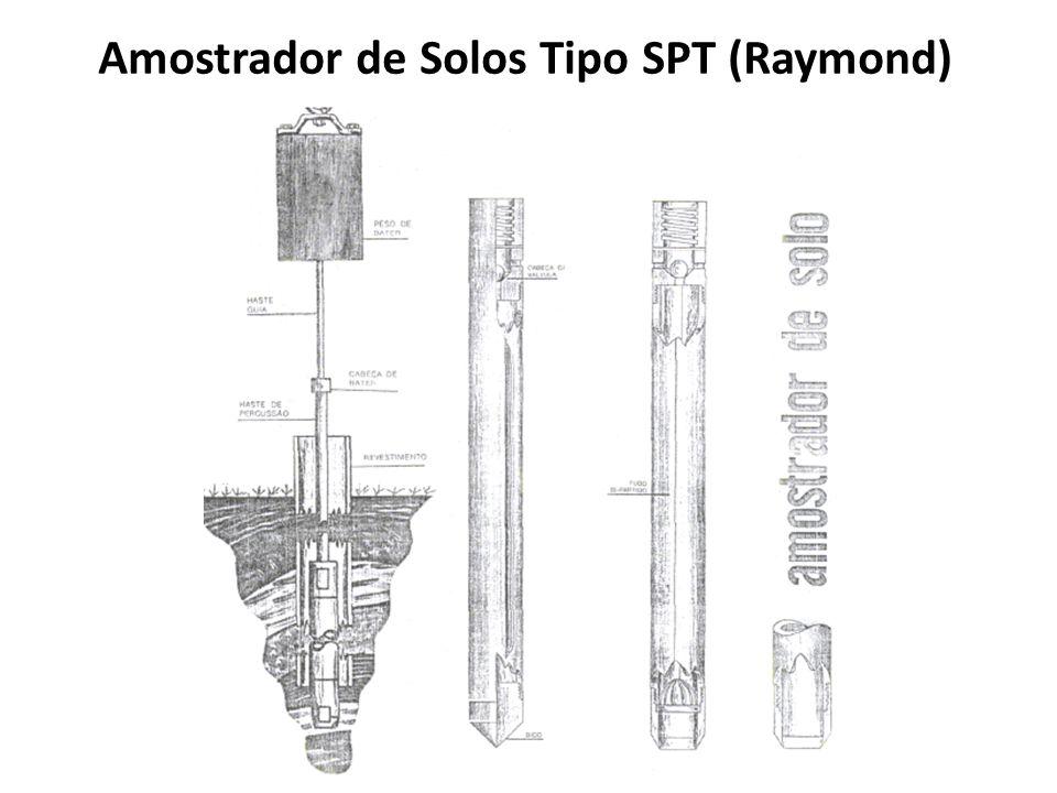 Amostrador de Solos Tipo SPT (Raymond)