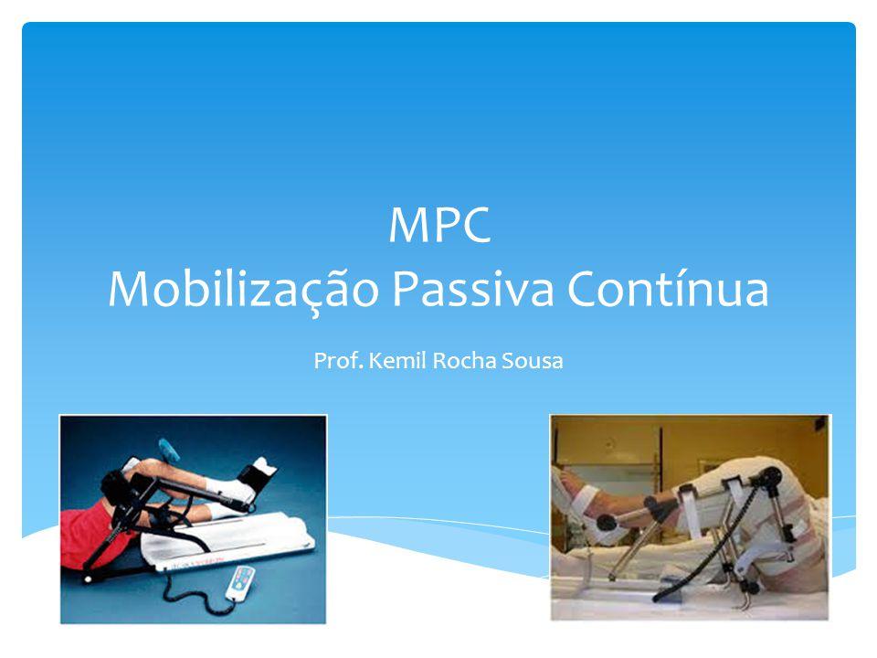 Movimento passivo feito por um dispositivo mecânico que move uma articulação de forma lenta e continuada ao longo de uma ADM controlada.