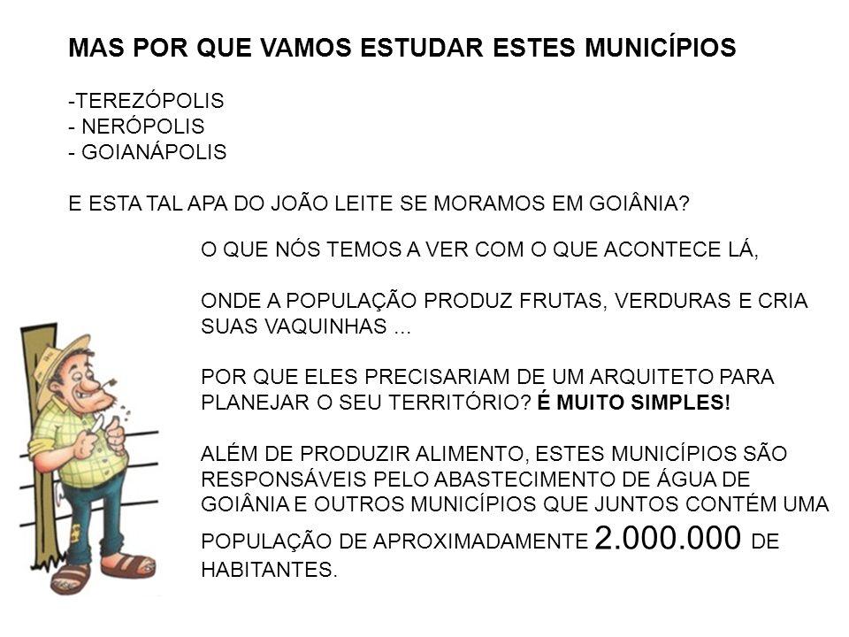MAS DE QUE FORMA PODEMOS TER A GARANTIA DE QUE ESTES MUNICÍPIOS VÃO PROTEGER A NOSSA ÁGUA.