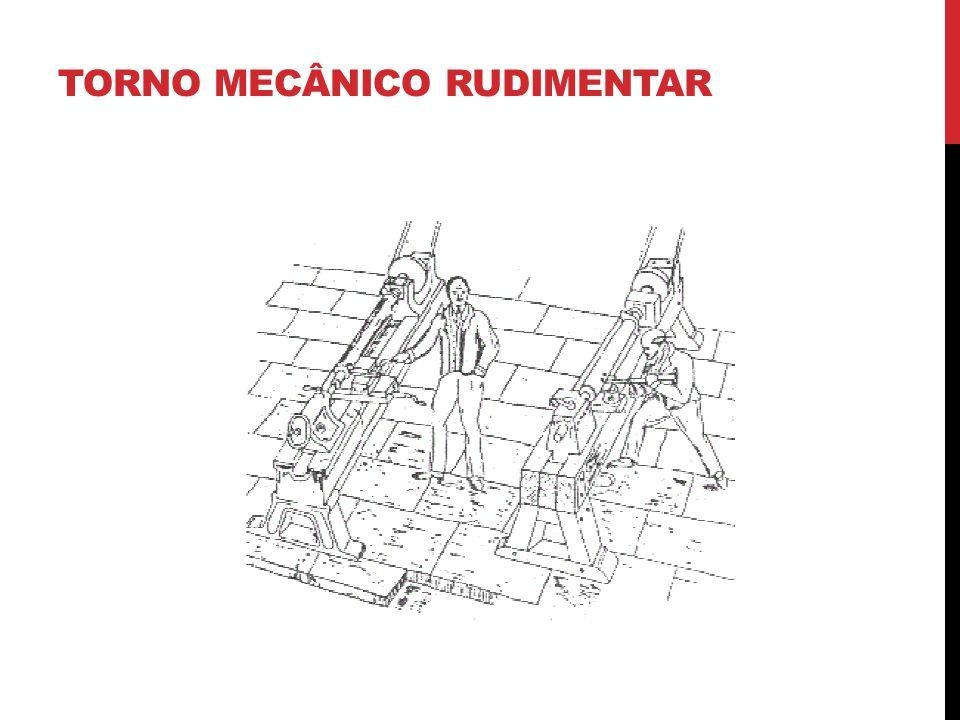 TORNO MECÂNICO RUDIMENTAR