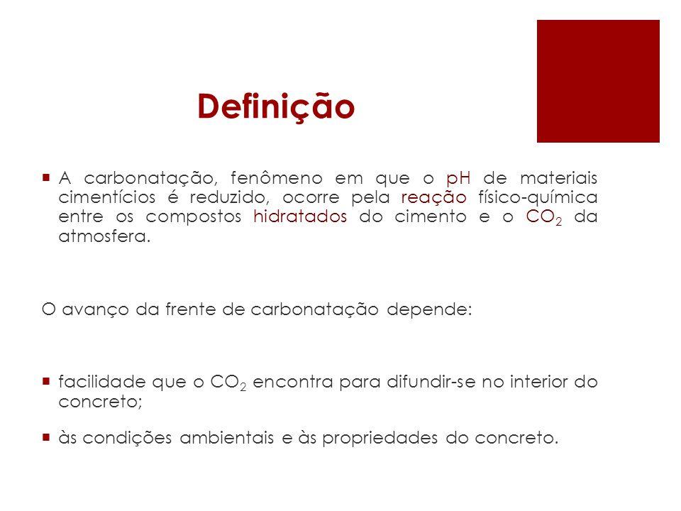 Câmara de medida acelerada da carbonatação Fonte: SÁ, 2008
